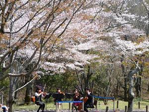 庭園アンサンブルコンサート