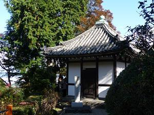 善峯寺の開山堂