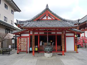 六波羅蜜寺の弁天堂