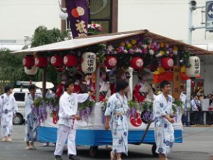 祇園甲部の雀踊