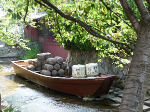 近世の京都の物流を支えた高瀬川