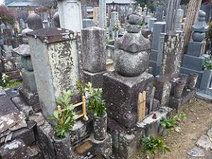 海北友松の墓
