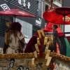 祇園祭後祭山鉾巡行-役行者山、八幡山・2015年