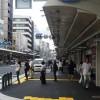四条通の歩道が広くなって観光客が歩きやすくなった