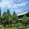 夏の青空と東福寺