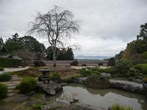 鳥獣の石庭