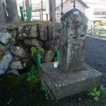 後藤顕乗の墓石が叡山電車の市原駅にある