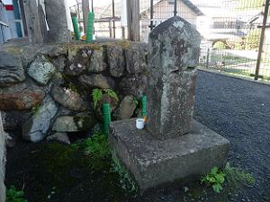 後藤顕乗の墓石