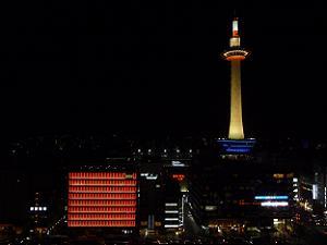 ロームと京都タワー