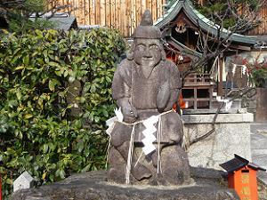 年季の入った恵美須さま