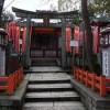 八坂神社の北向蛭子社に商売繁盛を祈願