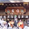 護王神社節分大祭の豆撒式・2016年