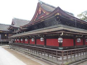 本殿の裏側