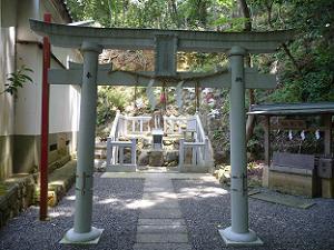 吉兵衛神社の鳥居