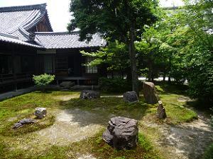 潮音庭の隣の庭