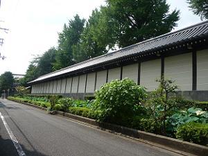 東本願寺の濠