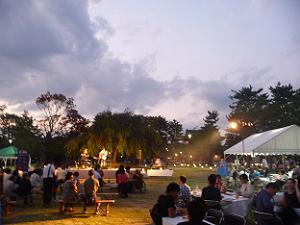 岡崎公園のライブ