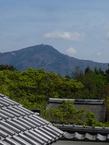 正伝寺から眺める比叡山