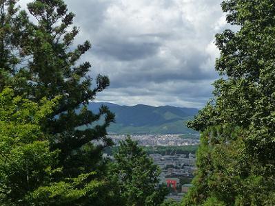 伊勢神宮遥拝所からの眺め