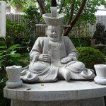平等寺の閻魔天に健康長寿を祈願