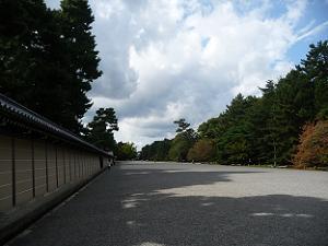 京都御苑の北側