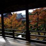 京都の紅葉狩りコース-大覚寺、大沢池、清凉寺、宝筐院編