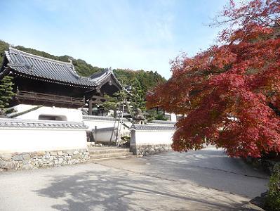龍宮門と紅葉