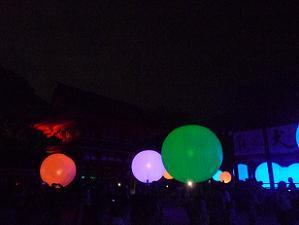 下鴨神社の球体
