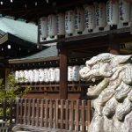 冬に参拝した熊野若王子神社・2017年