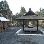 雪が残る大豊神社に参拝・2017年