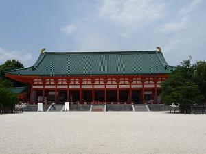 平安神宮の大極殿