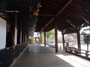 宸殿の廊下