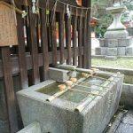 お玉の井と宗像社の鯰の台石・今宮神社