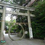 梅雨の岡崎神社で茅の輪くぐり・2017年