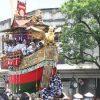 四条河原町で見た辻まわし-祇園祭前祭山鉾巡行・2017年