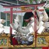 祇園祭後祭山鉾巡行-鯉山、役行者山、八幡山・2017年