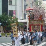 祇園祭後祭山鉾巡行-黒主山、大船鉾・2017年