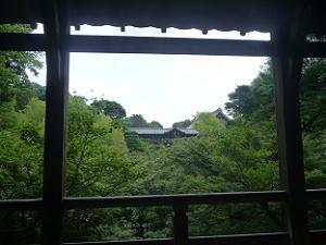 臥雲橋からの眺め
