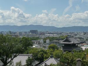 三重塔からの眺め