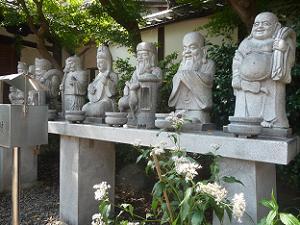 七福神とフジバカマ