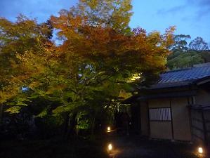 湖月庵と紅葉