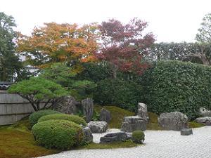方丈前庭の紅葉