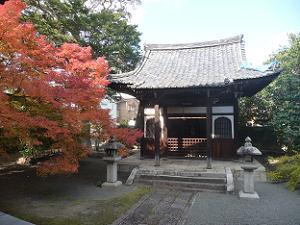 華芳堂と紅葉