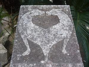 戌年の石柱