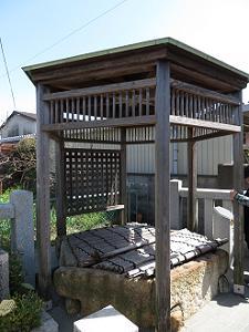 六角井戸の外観