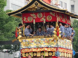 岩戸山の囃子方