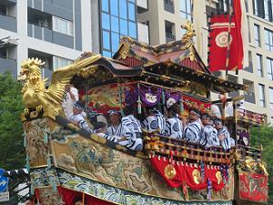 船鉾の囃子方