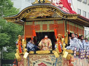 菊水鉾の囃子方