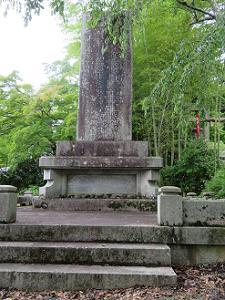 東方斎・荒尾精先生の碑