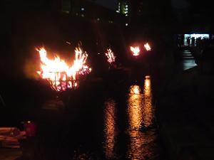 堀川かがり火のみち